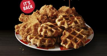 Kentucky Fried Chicken & Waffles returns after 4 months