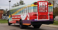 Chili's Detroit Bus