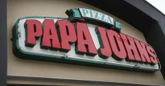 papa johns sign