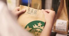 Starbucks expands delivery in China to 1,100 stores