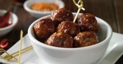 Korean BBQ Meatballs