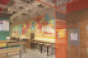 Wing Zone's redesigned dining room