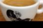 Espresso in the authors demitasse