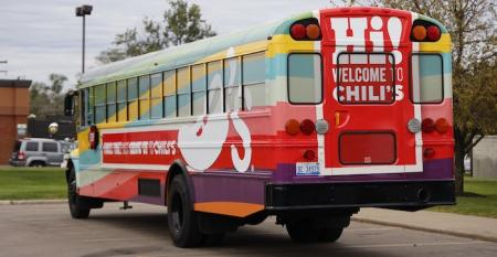 Chili's Detroit Bus