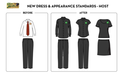 Olive Garden Introduces New Uniforms