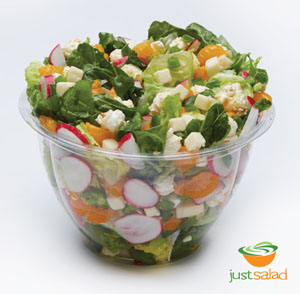 Just Salad's Jalapeño Popper salad
