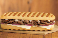 Tim Hortons' a Grilled Steak & Cheese Panini