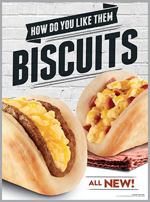 Taco Bell's Biscuit Taco