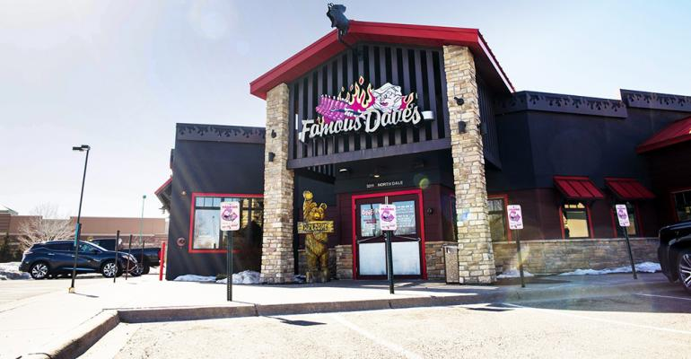 Famous Dave's CEO outlines 'fight for survival'