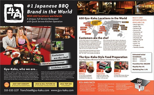 Franchise Focus Gyu Kaku Japanese Barbeque Nation S Restaurant News
