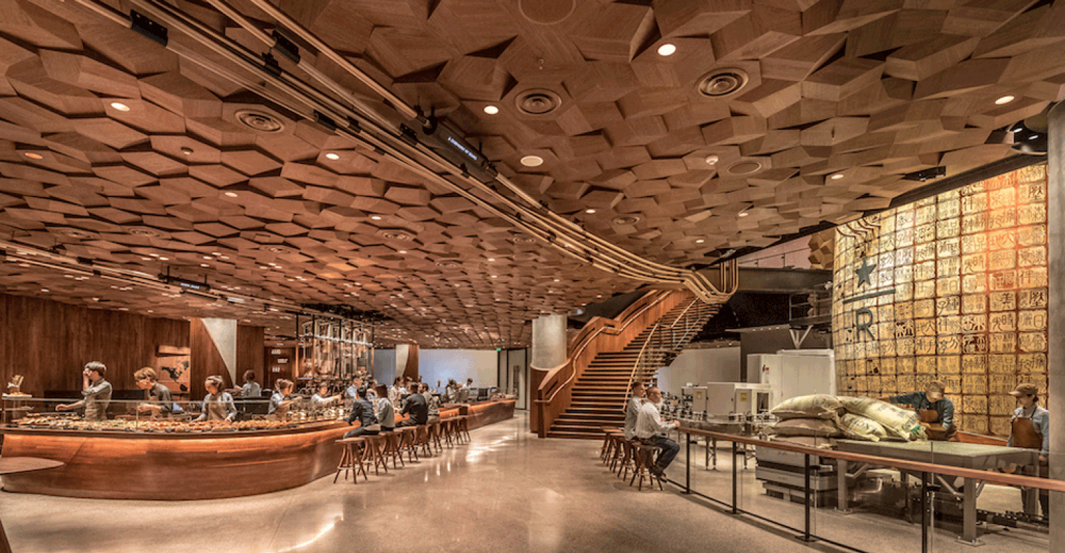First look at Starbucks' Reserve Roastery in Shanghai