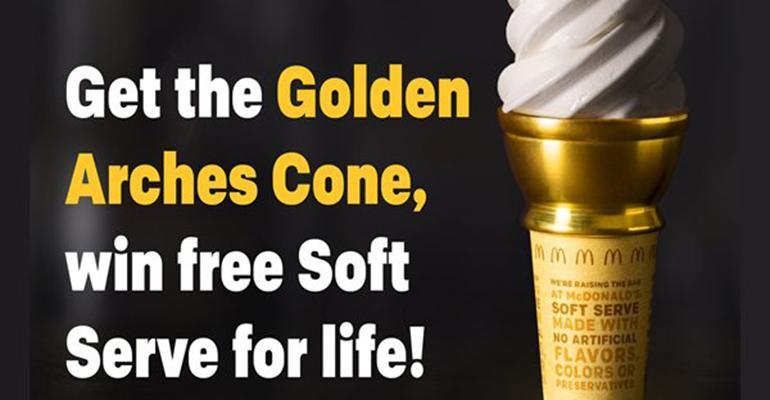 Get A Free McDonald's Ice Cream Cone!