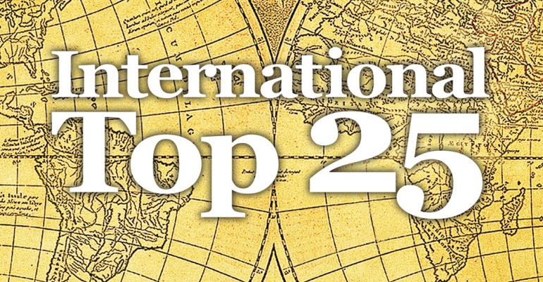 international top 25