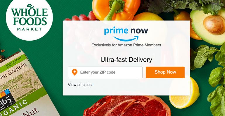 Amazon rolls out Prime Now deliveries from Whole Foods
