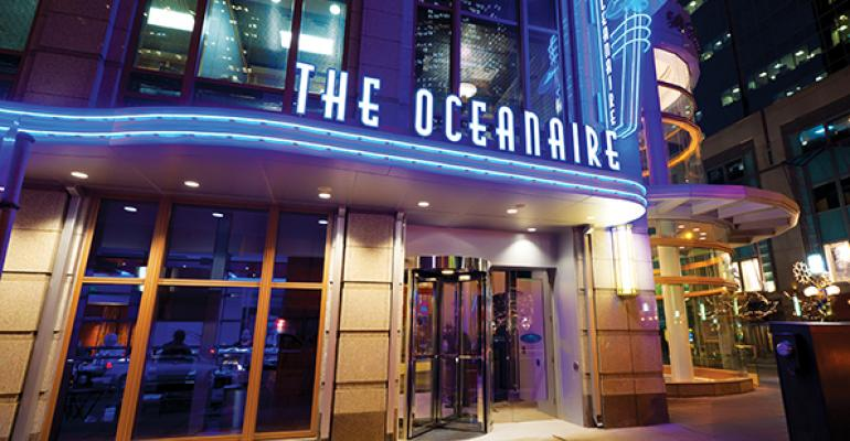 Oceanaire Boston Restaurant Week Menu