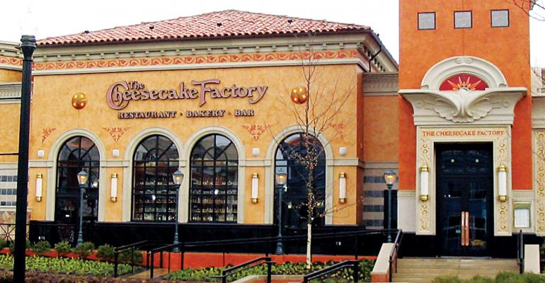 The Cheesecake Factory Incorporated Reports 23% Drop In Q3 Profit