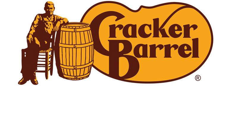 More on Cracker Barrel's Q1