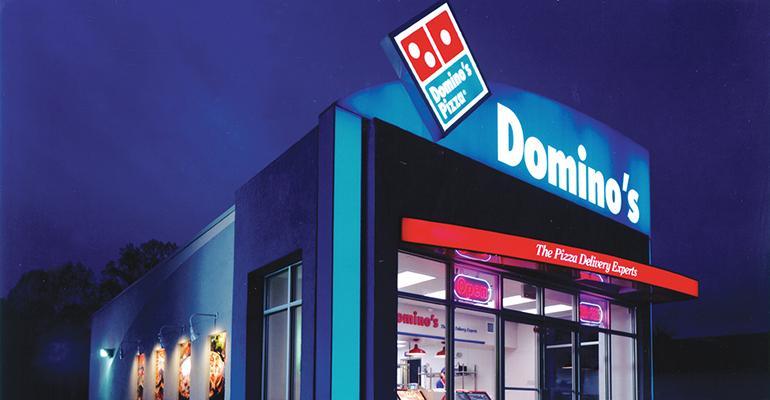 Domino's exterior