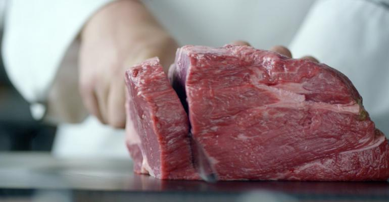 Applebeersquos has trained roughly 6000 employees as meat cutters to ensure the steaks and chops are cut and cooked consistently