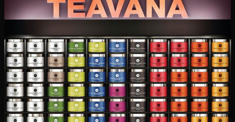 Atlantabased Teavana sells a variety of looseleaf teas and custom blends in its mostly mallbased locations