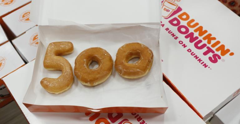 Dunkin' Donuts celebrates 500th New York City unit