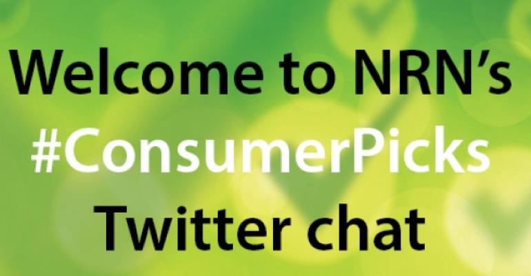 Highlights from NRN's Twitter chat with top-scoring Consumer Picks brands