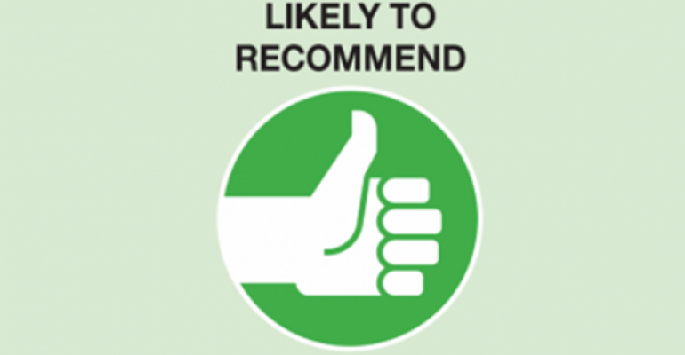 Consumers weigh in: Restaurants they're most likely to recommend