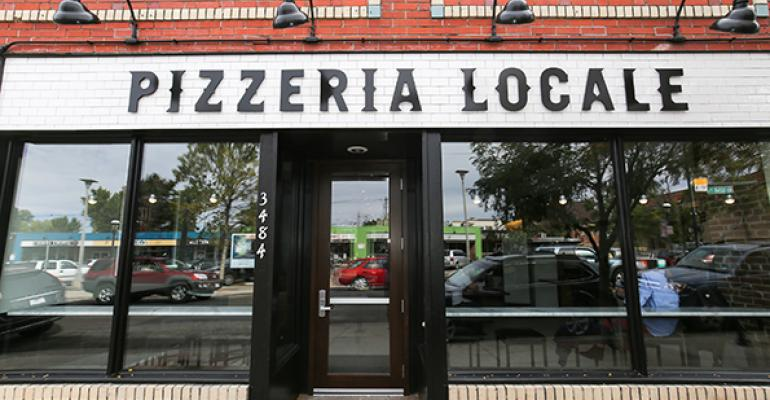 A look inside Pizzeria Locale