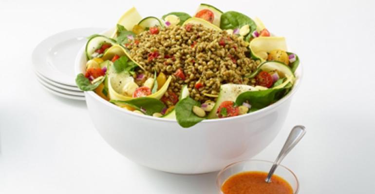 Zoes Kitchen Live Med Salad