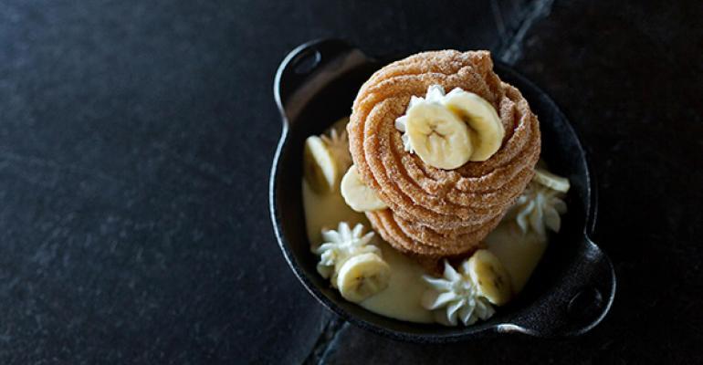Bananas Foster Cruller