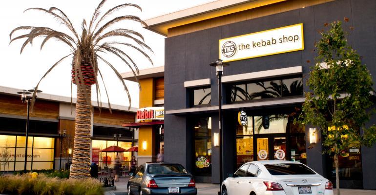 kebab shop exterior