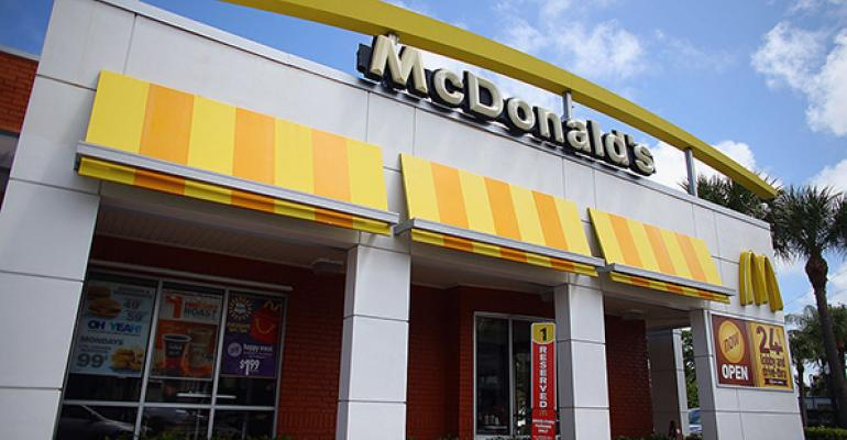McDonald's storefront