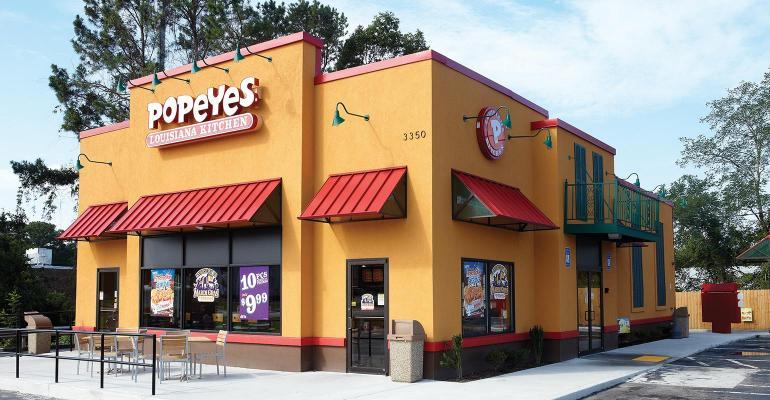 Popeyes storefront