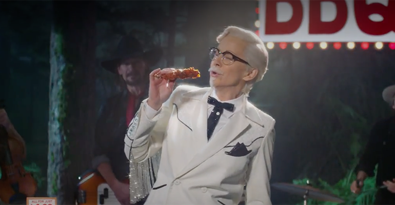 KFC Announces Its First Female Colonel Sanders