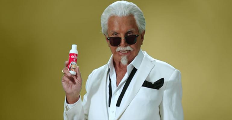 KFC introduces Extra Crispy Sunscreen