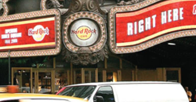 HARD ROCK CAFE HONORS AFFILIATED LEADERS AT ANNUAL CONFERENCE