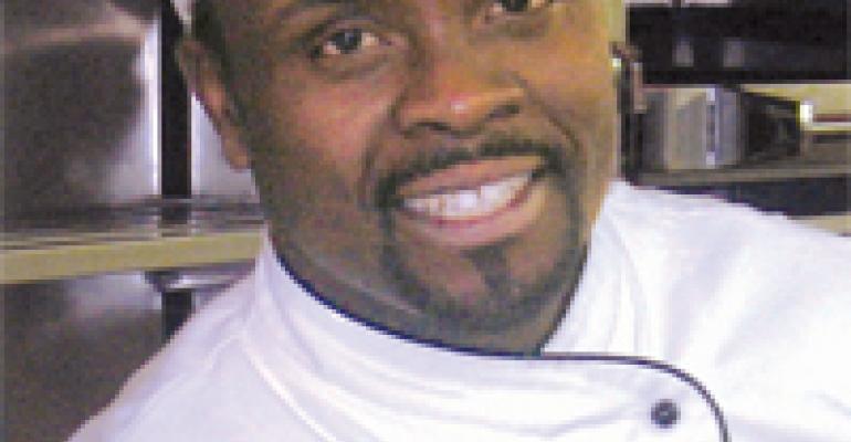 Chef Wilson Njenga takes time to train the next generation