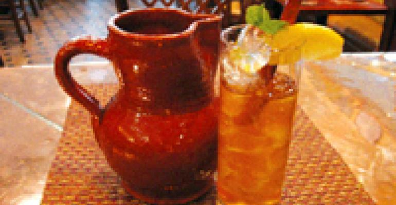 NRN FEATURED BEVERAGE: Molyvos House Blend Ice Tea