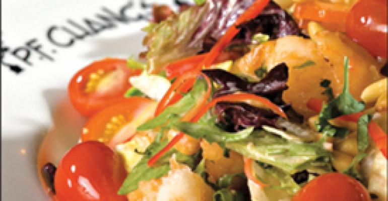 Shrimp makes a splash on summer salads