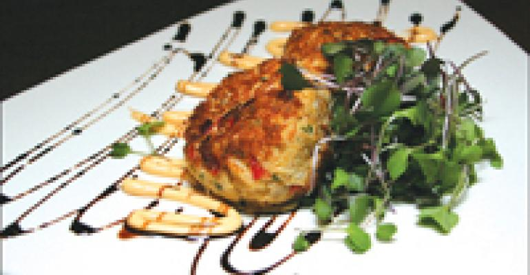 Dish Of The Week: Crab cakes with chipotle rémoulade