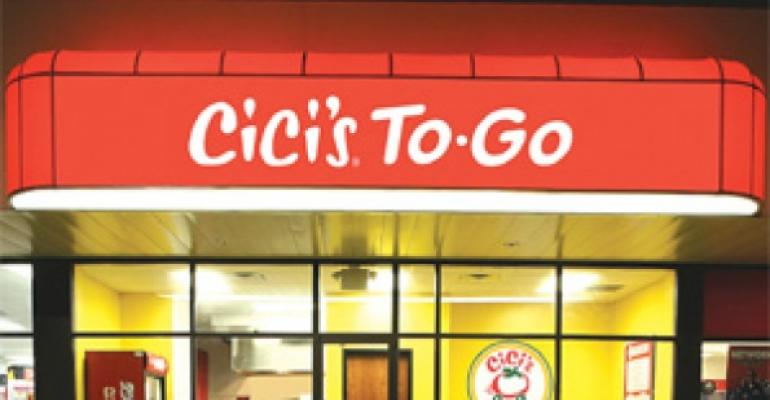 CiCi's Pizza expects big things from smaller units, takeout-only variant