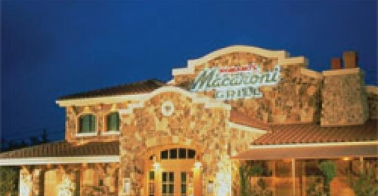 Analysts: Projected Macaroni Grill price may portend M&A pressure
