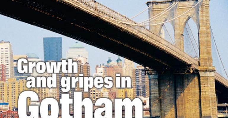 Growth and gripes in Gotham