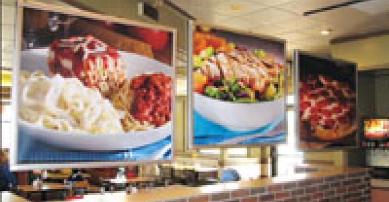 Fazoli's continues menu and decor modifications