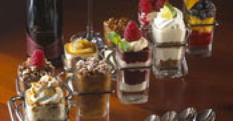 Seasons 52 grows mini-dessert line