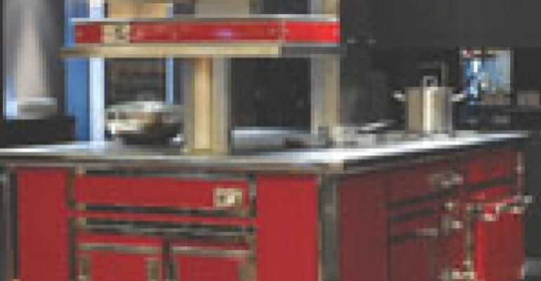 Custom cooking suite offers interactivity for guests