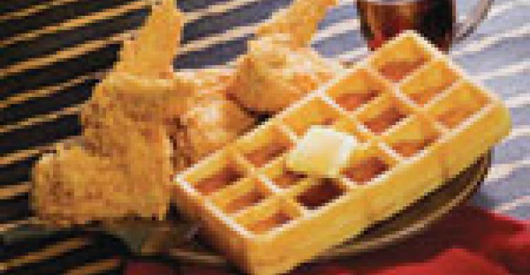Mrs. Winners debuts waffles line
