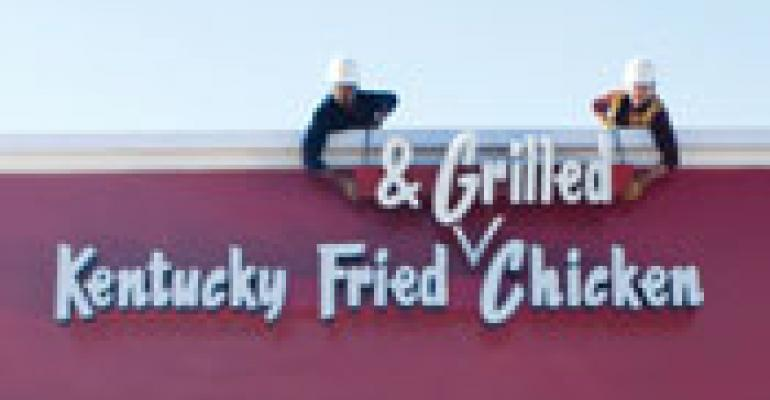 KFC eyes name change to include 'Grilled'