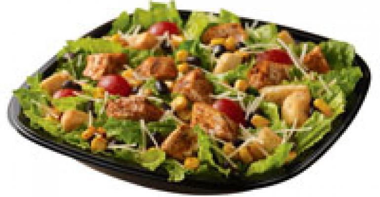 Wendy's brings back Southwest Chicken Caesar Salad