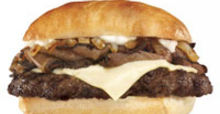 Hardee's goes for premium-priced heft with new burger